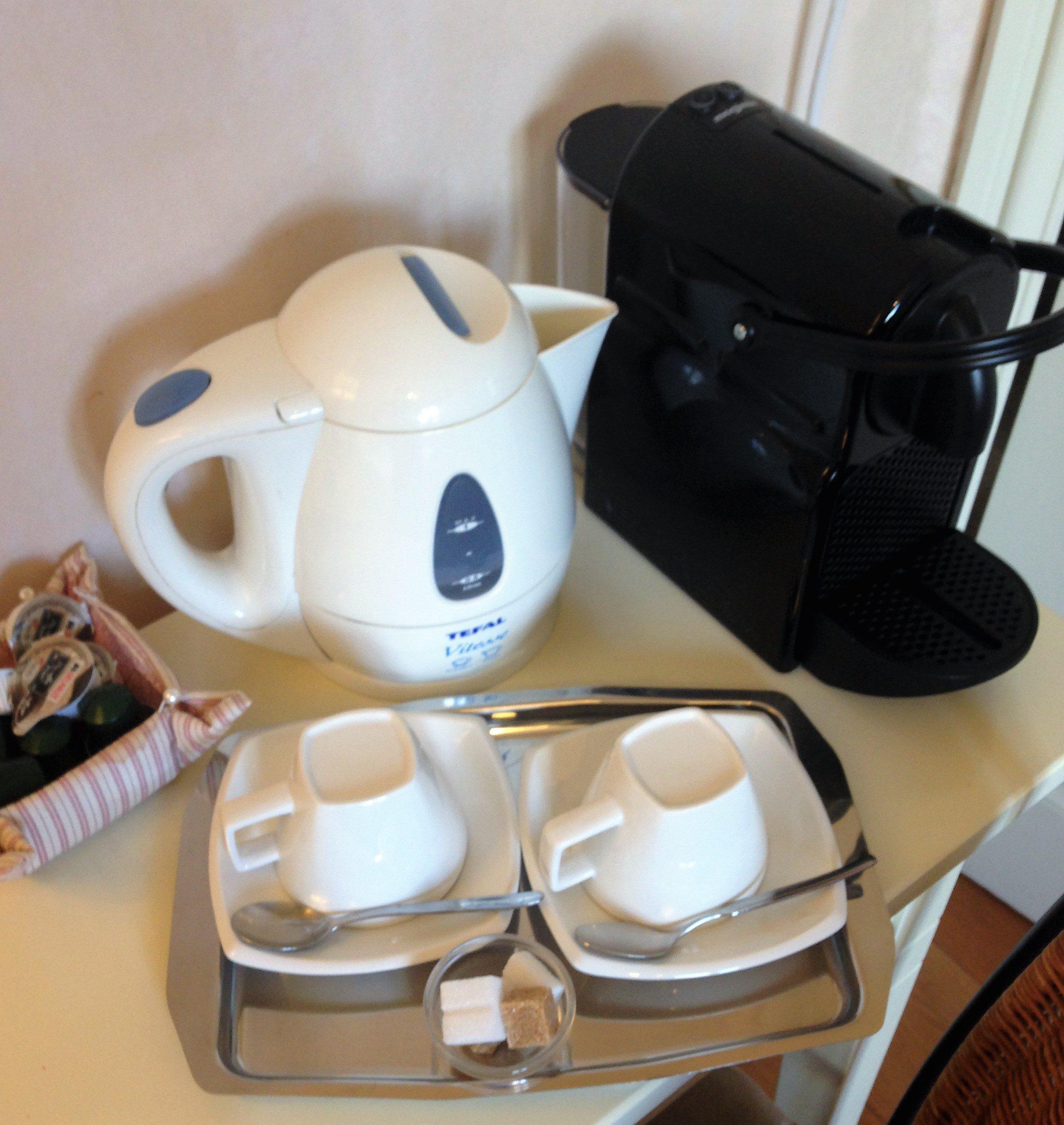 Coupure Bed & Breakfast Brugge - koffie op de kamer