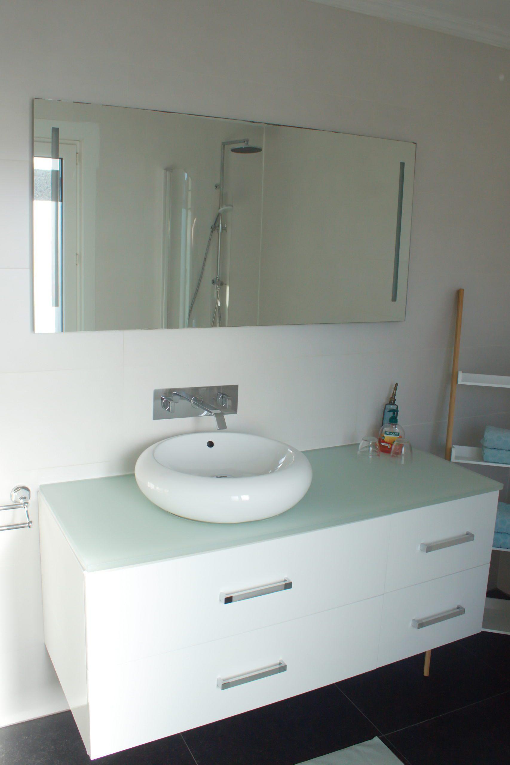 Badkamer Côté Jardin - bad en douche - toilet