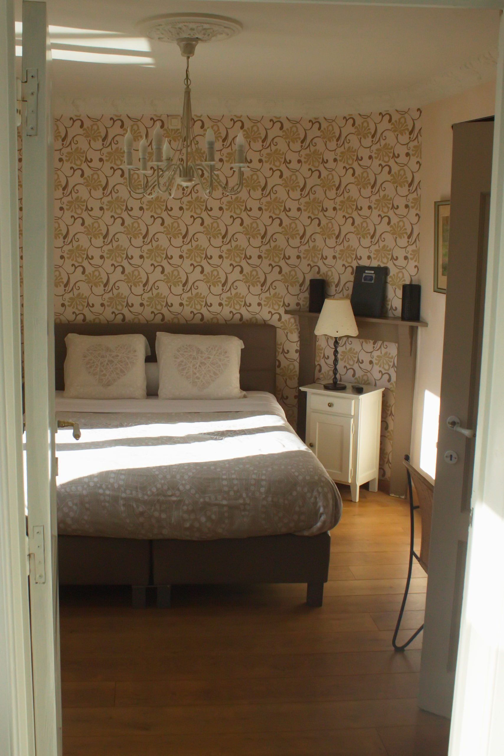 Côté Jardin gastenkamer dubbeld bed
