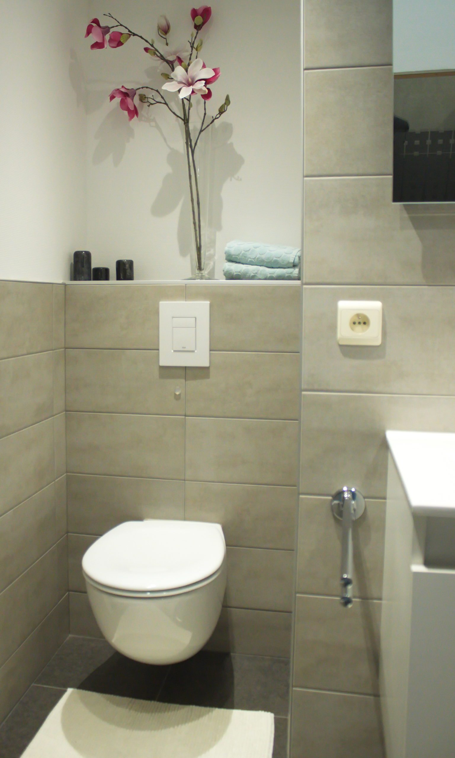 Detail toilet gastenkamer Côté Ciel
