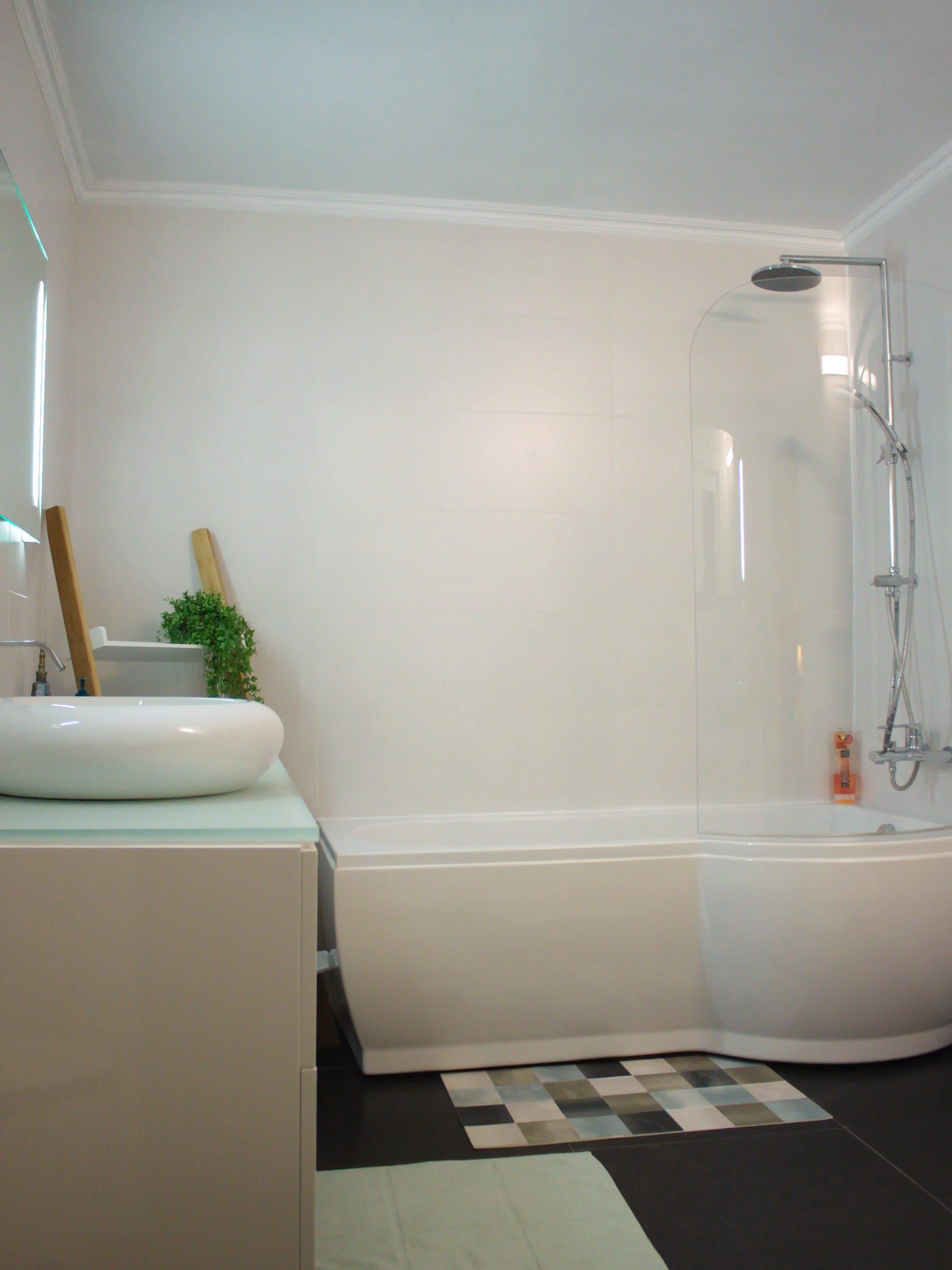 badkamer Côté jardin lavabo bad en douche