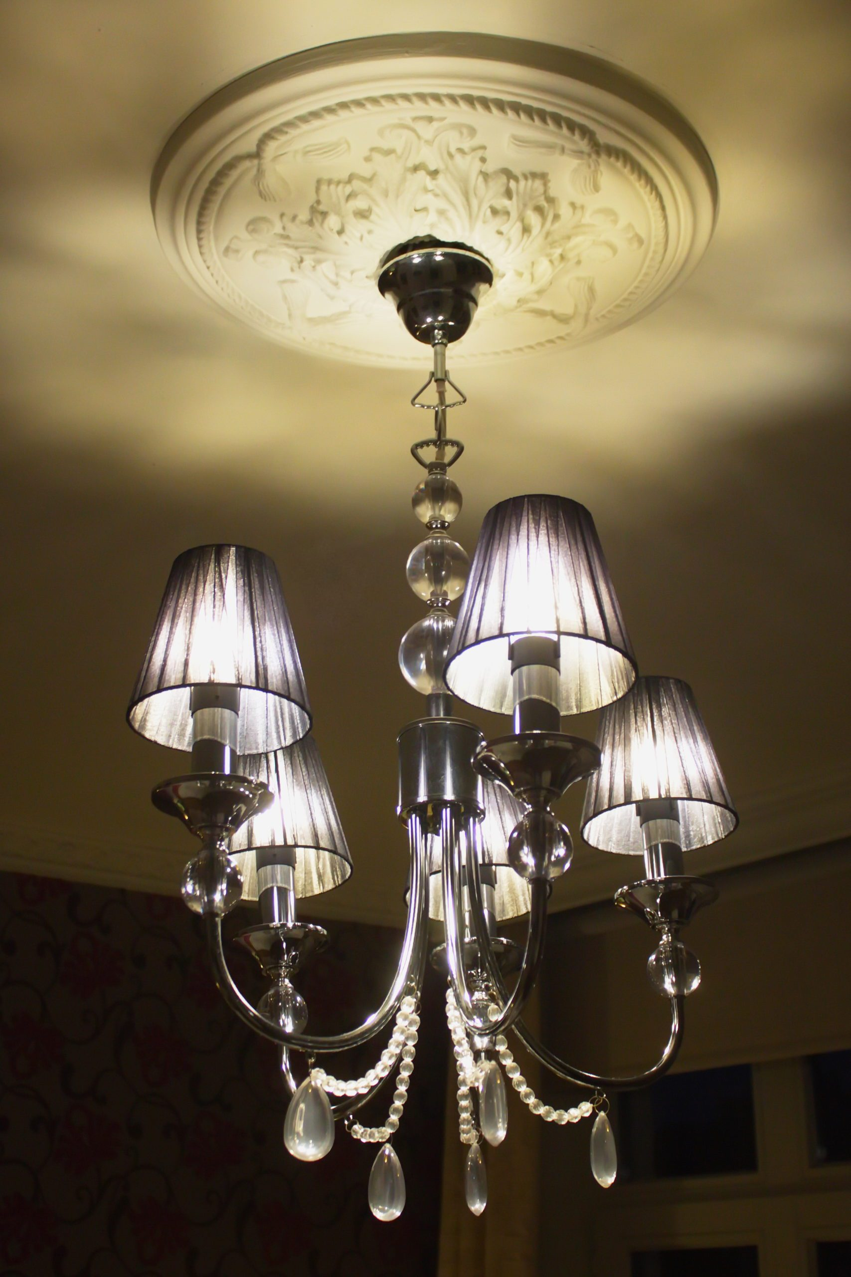 gastenkamer Côté Coupure detail decoratie verlichting